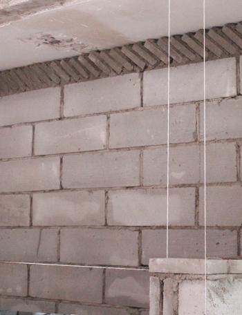 小砖斜砌工艺