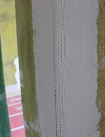 PVC阴阳角条工艺