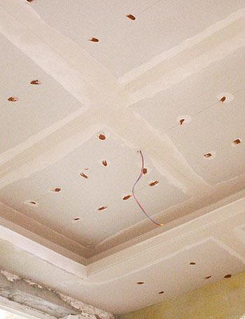 石膏板拼接缝处理工艺